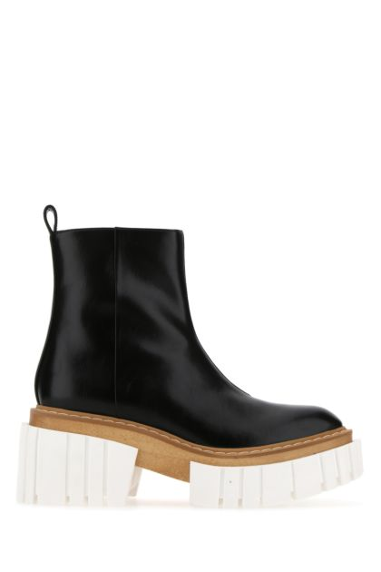 Black alter nappa Emilie ankle boots