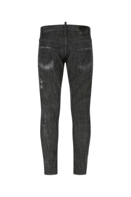 Grey stretch denim Sexy Twist jeans