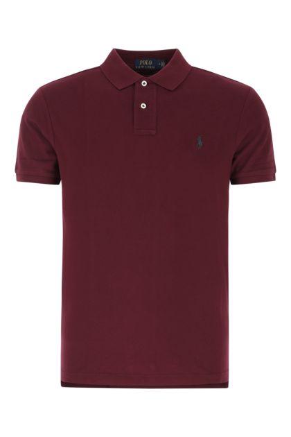 Grape piquet polo shirt