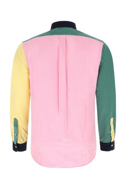 Multicolor corduroy shirt