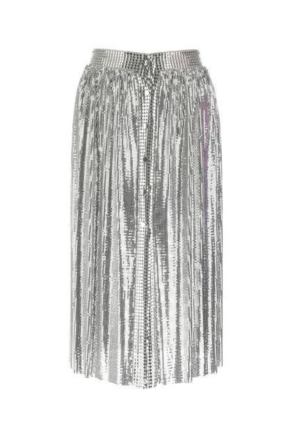 Silver metal skirt