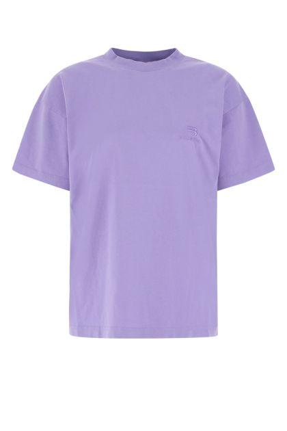 Lilac cotton oversize t-shirt