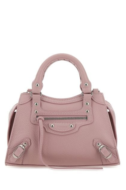 Antiqued pink leather mini Neo Classic handbag