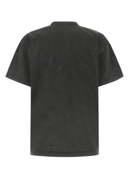 Slate cotton oversize t-shirt
