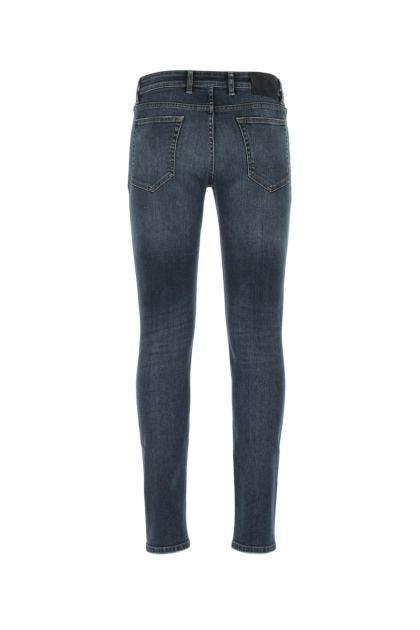 Blue stretch denim Swing jeans