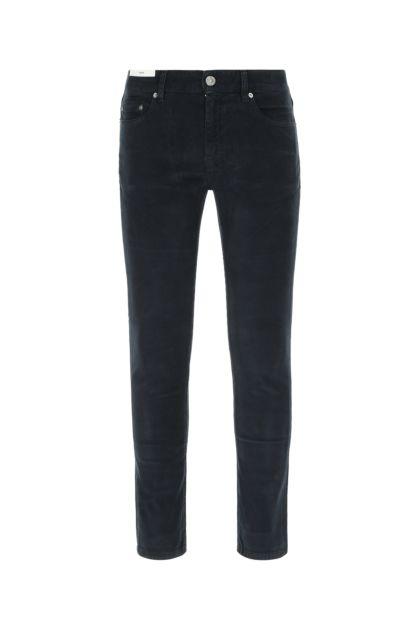 Navy blue stretch corduroy Rock jeans