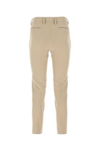 Cappuccino stretch polyester pant