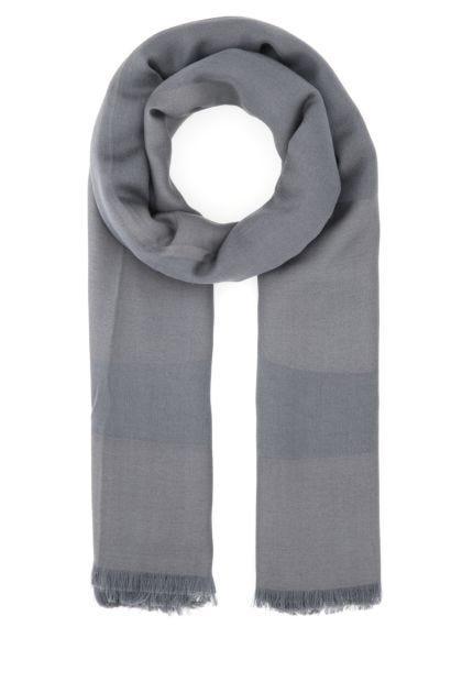Dark grey modal blend scarf