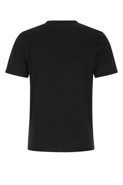 Black cotton t-shirt