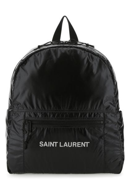 Black nylon Nuxx backpack