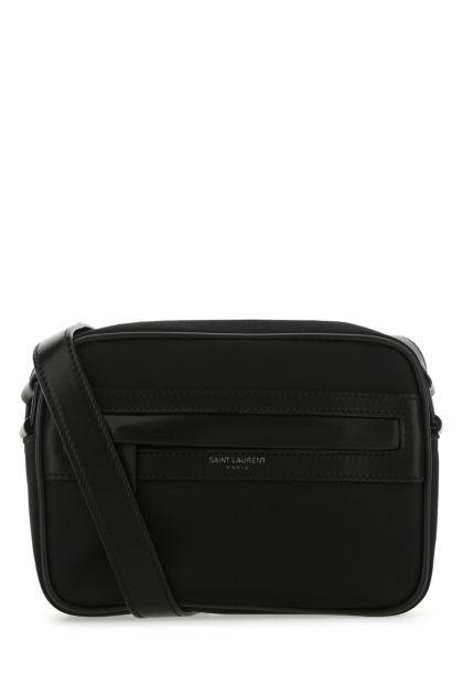 Black fabric small Camp crossbody bag