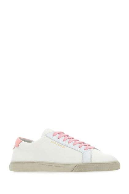 White canvas Andy sneakers