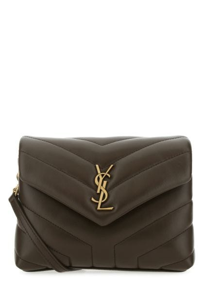 Mud leather toy Loulou crossbody bag