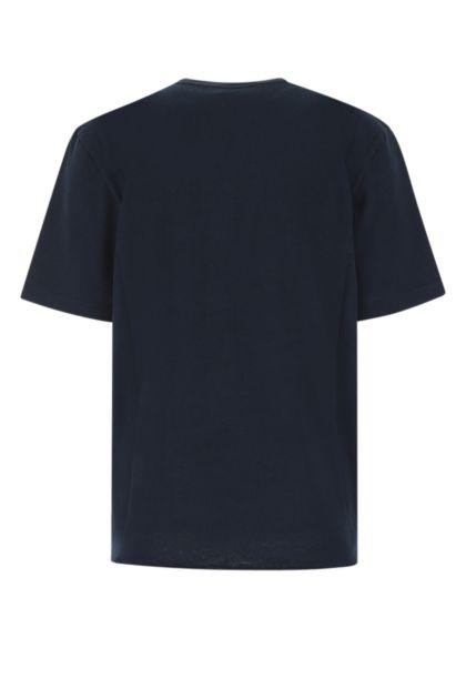 Dark blue cotton t-shirt