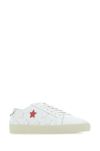 Embellished leather SL/06 sneakers