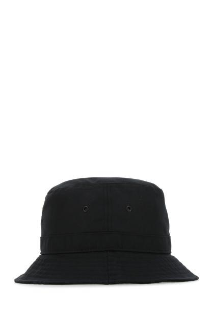 Black polyester hat