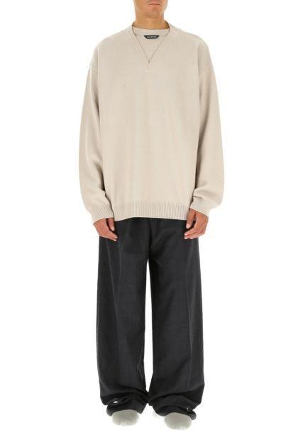 Cappuccino wool oversize sweater