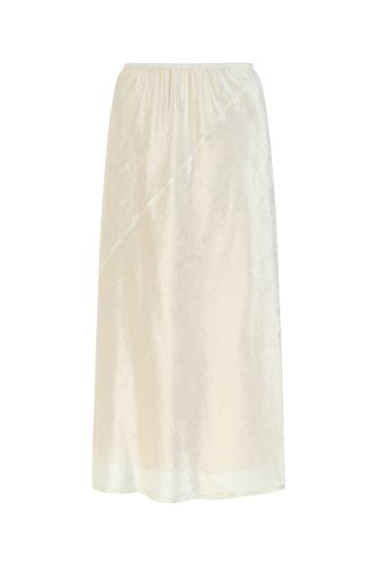 Ivory chenille skirt