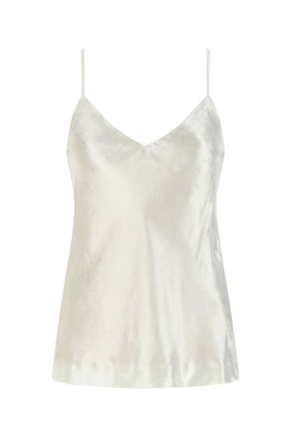 Ivory chenille top