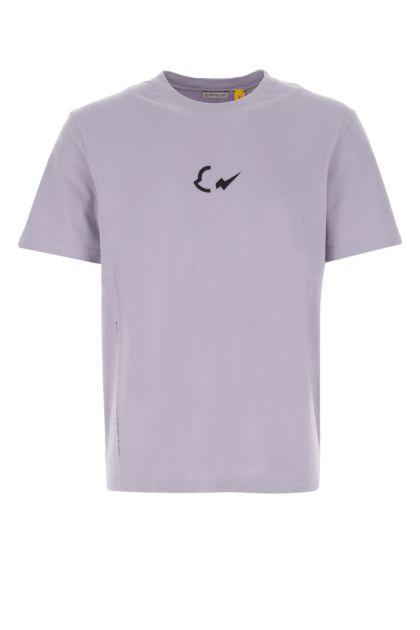 Lilac 7 Moncler Fragment Hiroshi Fujiwara oversize t-shirt