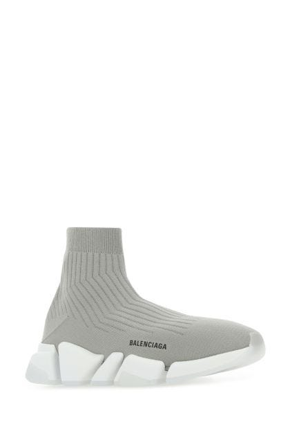 Grey stretch polyester Speed 2.0 sneakers