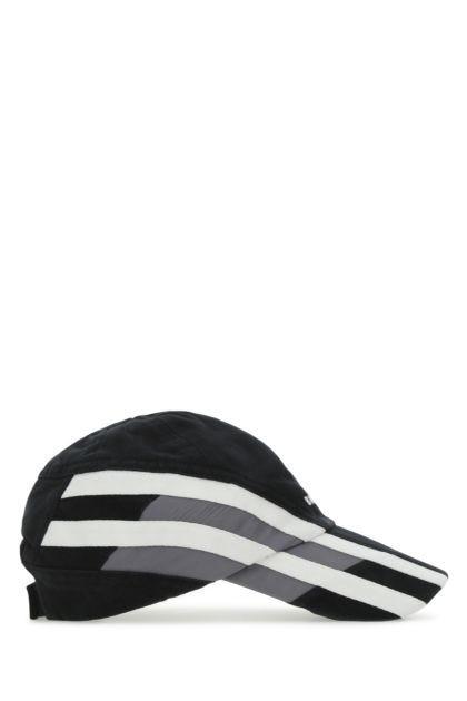 Multicolor cotton baseball cap