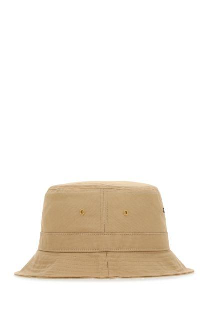 Beige cotton hat
