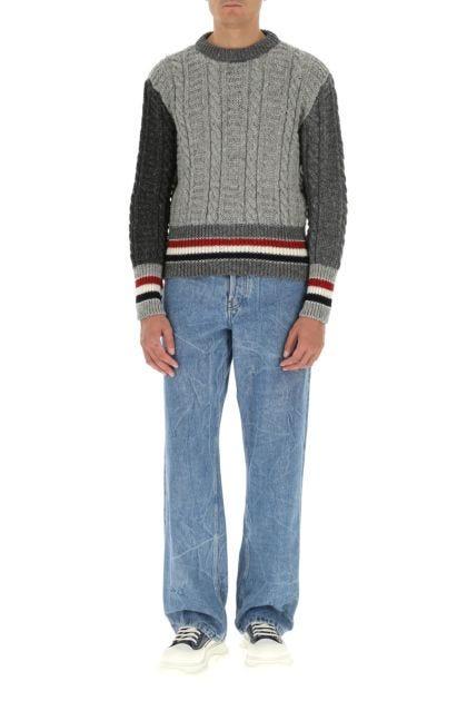 Multicolor wool blend sweater