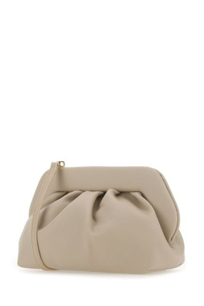 Cappuccino synthetic leather Bios clutch