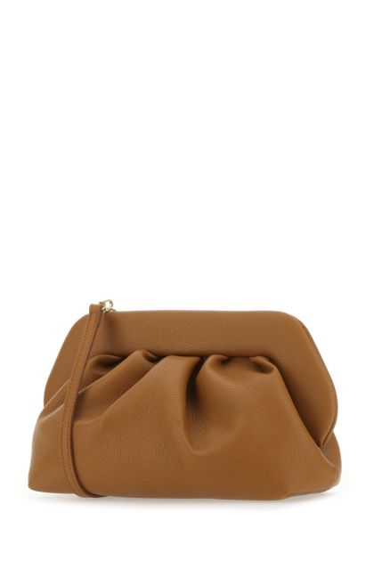 Biscuit synthetic leather Bios clutch