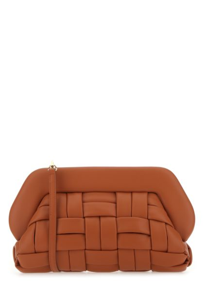 Brick synthetic leather Bios clutch