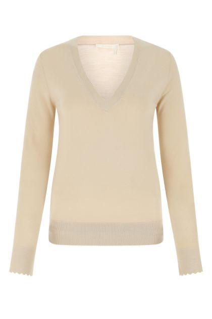 Cappuccino wool sweater