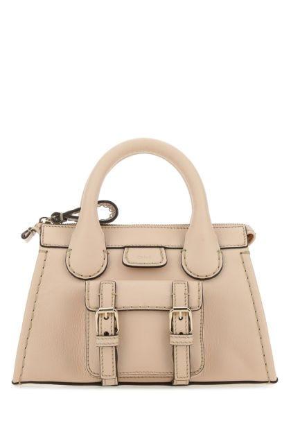 Skin pink leather mini Edith handbag