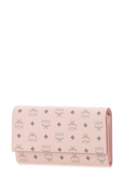 Printed canvas wallet