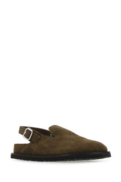 Mud suede Berlin slippers
