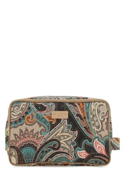 Printed polyester beauty case