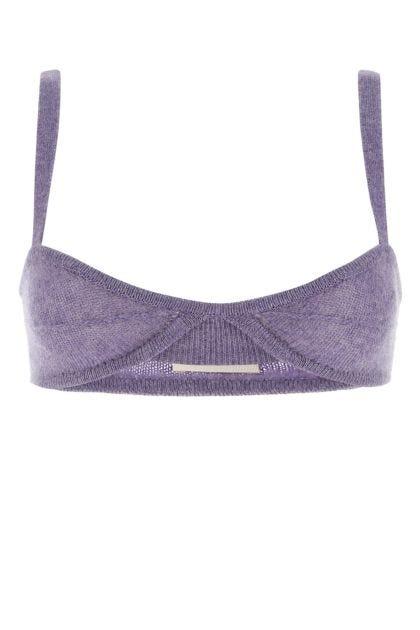 Lilac cashmere top