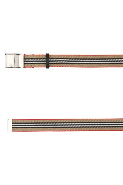 Embroidered polyester belt