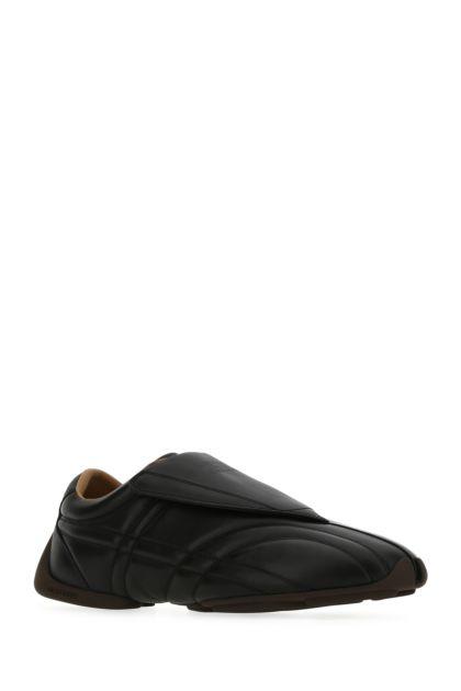 Black leather Phoenix sneakers