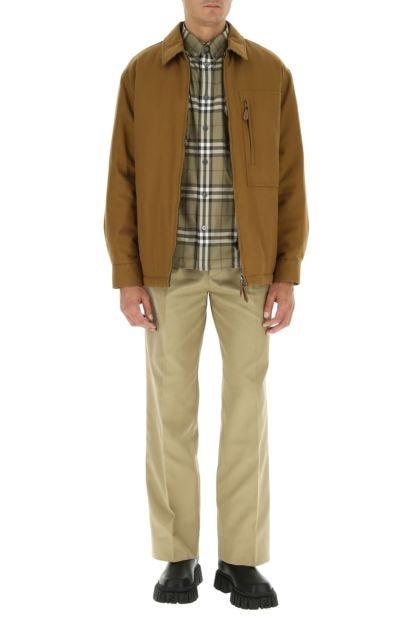 Camel cotton jacket