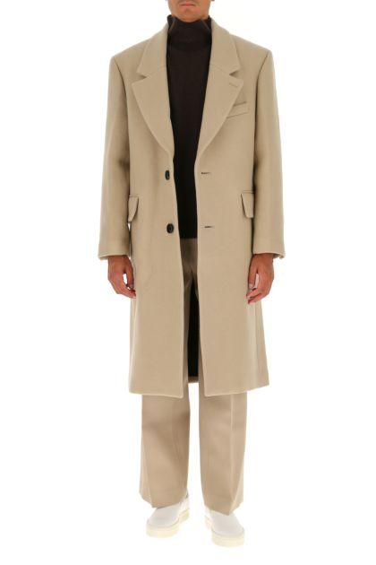 Cappuccino wool coat