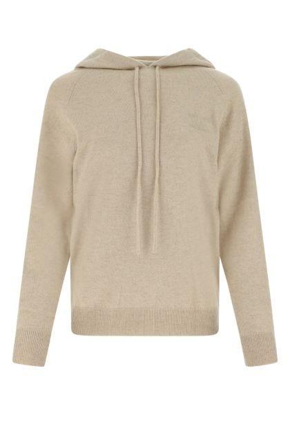 Sand wool blend oversize sweater