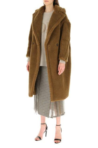 Biscuit alpaca blend Ted1915 coat