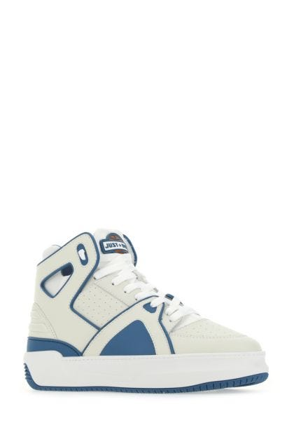 Two-tone leather JD1 sneakers
