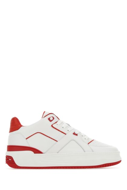 Two-tone leather Courtside Lo JD3 sneakers