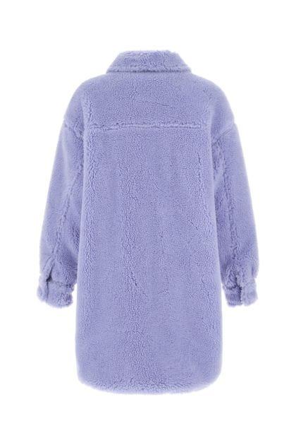 Lilac eco fur Sabi coat