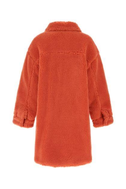 Coral eco fur Sabi coat