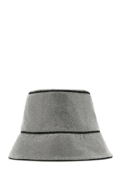 Embellished fabric hat