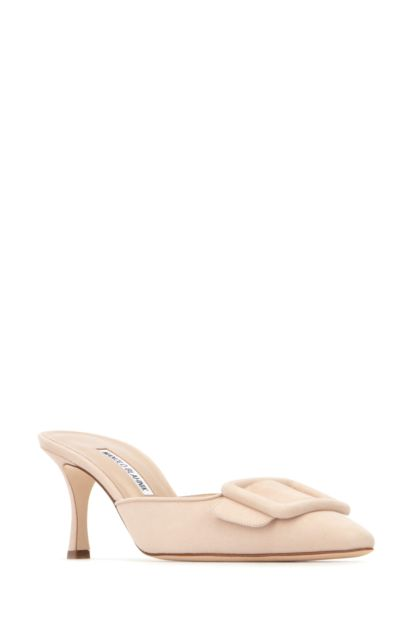 Sand suede Maysale mules