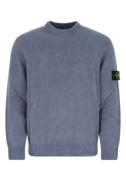 Air force blue cotton sweater